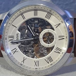 Fossil Automatic skeleton Chronograph